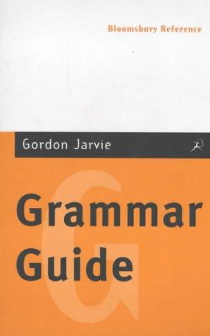 9780747538752: Grammar Guide (Bloomsbury Reference)
