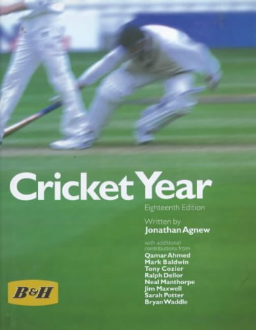 Benson and Hedges Cricket Year 1999: Editor-Jonathan Agnew; Contributor-Qamar