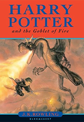HARRY POTTER AND THE GOBLET OF FIRE BK. 4