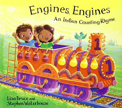 9780747550136: Engines Engines: A Colourful Counting Book (Bloomsbury Paperbacks)