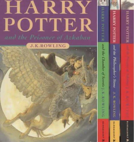 9780747553229: Harry Potter Box Set, Vol. 1-3