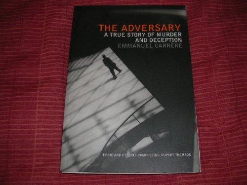 9780747553540: THE ADVERSARY