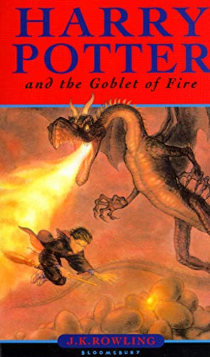 HARRY POTTER - TOME 4: HARRY POTTER AND THE GOBLET OF FIRE