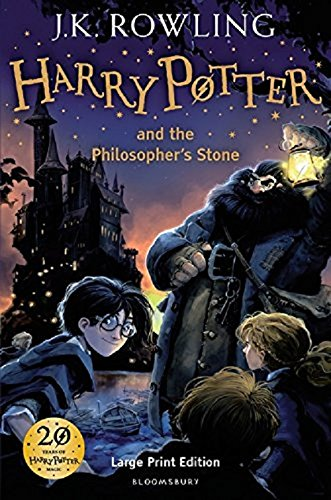 9780747554561: FHarry Potter and the Philosopher's Stone, Large Print edition
