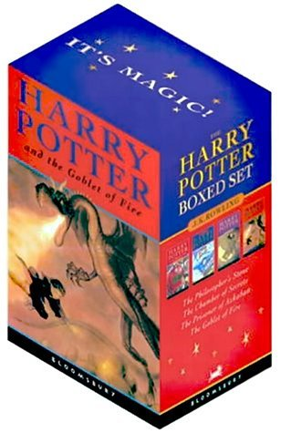 9780747557012: Harry Potter PB Boxed Set x 4: Harry Potter and the Philosopher's Stone 1: Bk. 1-4
