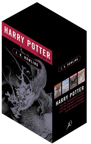 9780747560005: Harry Potter Adult Edition Box Set: Four Volumes in Paperback