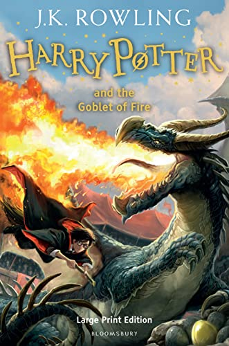 Harry Potter and the Goblet of Fire (Hardcover): J.K. Rowling