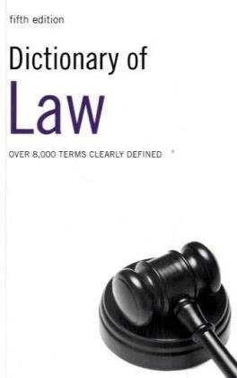 9780747566366: Dictionary of Law