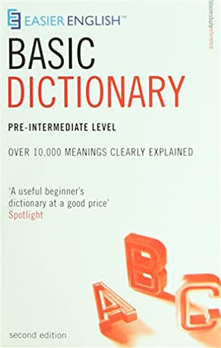 9780747566441: Easier English Basic Dictionary: Pre-intermediate Level: Over 11,000 Terms Clearly Defined