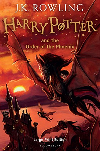 9780747569602: Harry Potter and the Order of the Phoenix (Book 5) [Large Print]