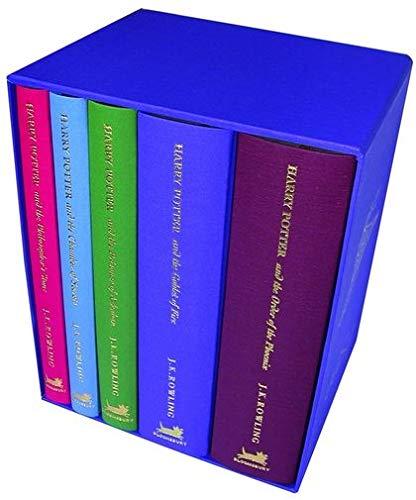 9780747569633: Harry Potter HB Box Set x 5: Bks.1-5