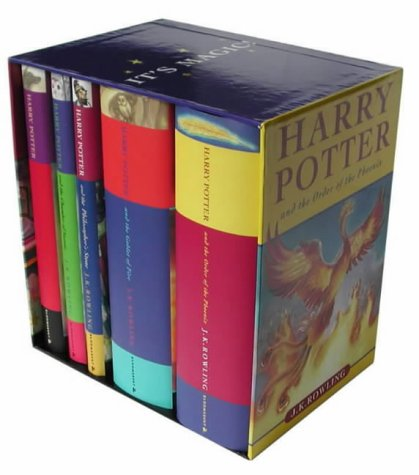 9780747569640: Harry Potter Box Set: Bks.1-5