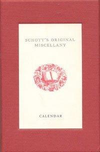 9780747570400: Schotts Original Miscellany Calendar Box