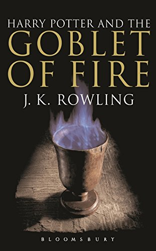 9780747574507: Harry potter and the goblet of fire: 4/7 (Harry Potter Adult Cover)