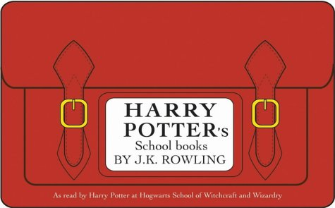 9780747574514: Harry Potter's School Book Pack