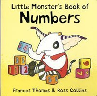 9780747575368: Little Monster's Book of Numbers