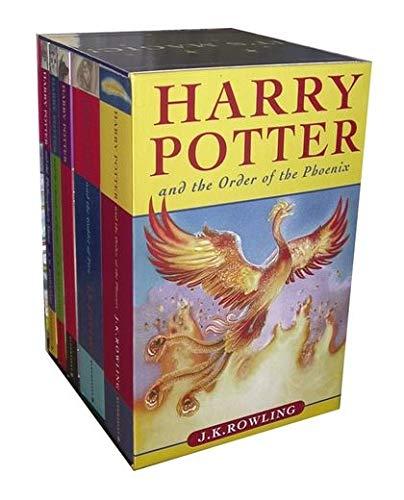 9780747575443: Harry Potter, 5 volumes Boxed Set