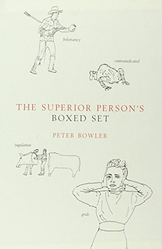 The Superior Person's Book of Words (074757877X) by Peter Bowler