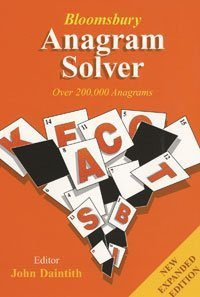 9780747580010: Anagram Solver