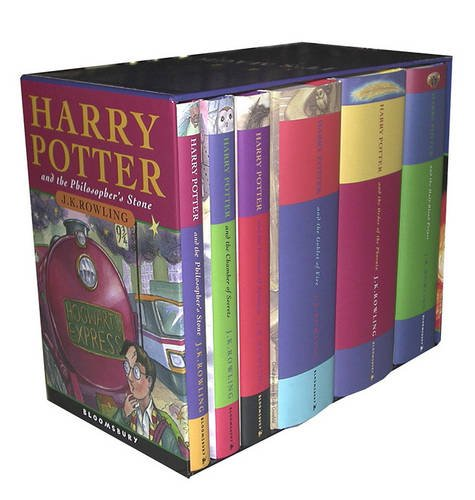 9780747581536: Harry Potter UK/Bloomsbury Publishing Vol 1-6 Children's Edition Boxed Set (Harry Potter, 1-6)