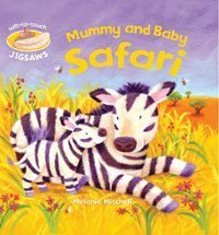 9780747581802: Mummy and Baby Safari: Soft-to-Touch Jigsaws