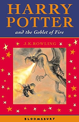 9780747582380: Harry Potter 4 and the Goblet of Fire. Celebratory Edition
