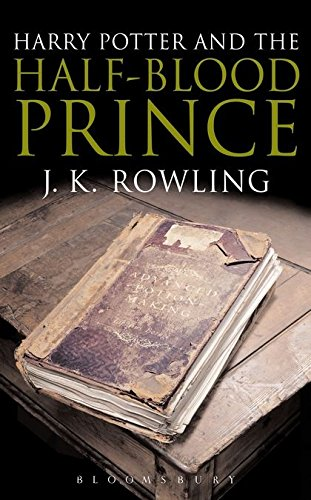 9780747584667: Harry Potter and the Half-Blood Prince (Harry Potter 6)[Adult Edition]