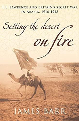 9780747585534: Setting the Desert on Fire