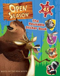 Open Season: Reusable Sticker Book (Open Season)
