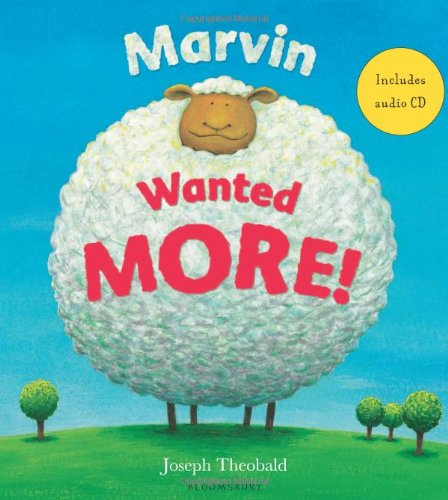 9780747588733: Marvin Wanted More (Book & CD)