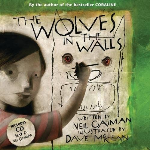9780747591627: Wolves in the Walls (Book & CD)