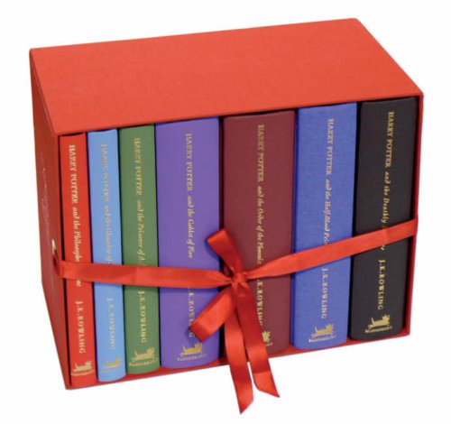 9780747593683: Deluxe Harry Potter UK/Bloomsbury Publishing Vol 1-7 Boxed Set (The Complete Harry Potter Collection)