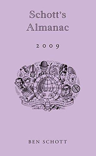 Schott's Almanac 2009 (0747595623) by Ben Schott