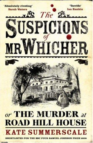 9780747599227: THE SUSPICIONS OF MR. WHICHER
