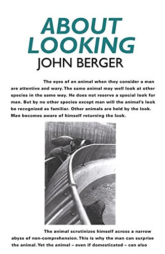 About Looking 9780747599579 John Berger explores our role as observers to reveal new layers of meaning in what we see. How do the animals we look at in zoos remind us of a relationship between man and beast all but lost in the 20th century? What is it about looking at war photos that doubles their already potent violence? He answers these questions amongst others.