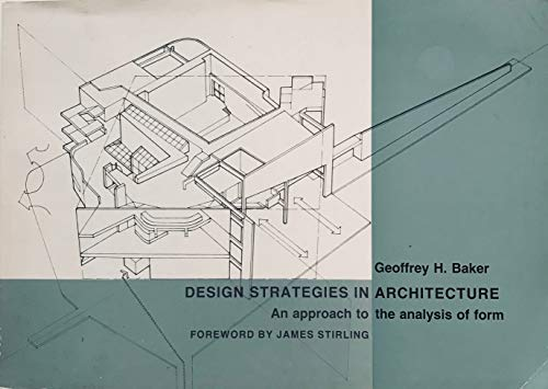 9780747600404: Design Strategies in Architecture: An Approach to the Analysis of Form