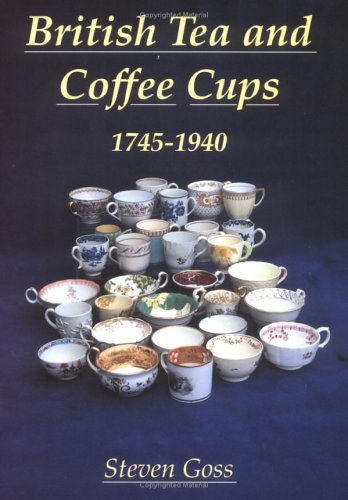 9780747804451: British Tea & Coffee Cups (Albums Series)