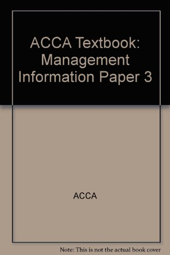 9780748331024: Management Information (This Title Has Been Superseded)