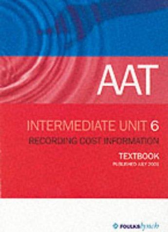 9780748351008: AAT NVQ: Unit 6