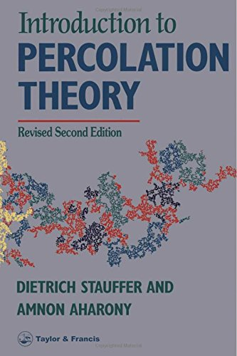 9780748400270: Introduction To Percolation Theory: Second Edition