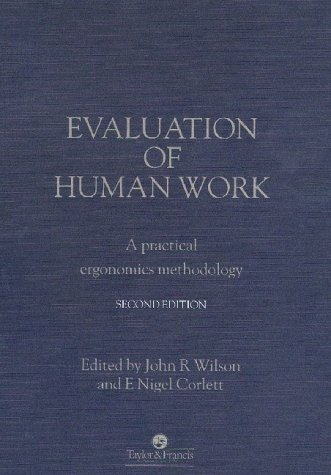 9780748400843: Evaluation of Human Work, 2nd Edition