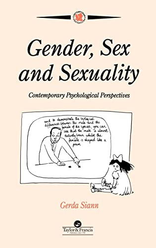 9780748401857: Gender, Sex and Sexuality: Contemporary Psychological Perspectives (Contemporary Psychology Series, 9)