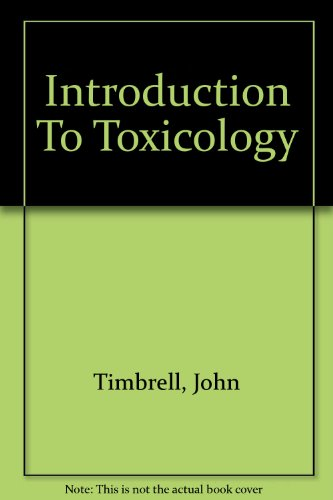 9780748402403: Introduction To Toxicology