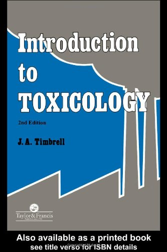 9780748402410: Introduction To Toxicology