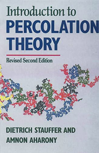 9780748402533: Introduction To Percolation Theory: Revised Second Edition