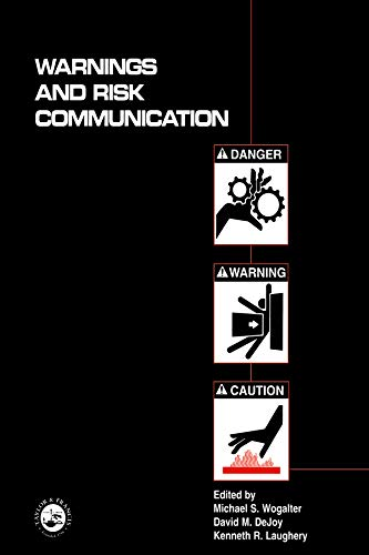 9780748402663: Warnings and Risk Communication
