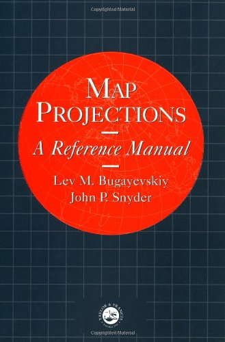 9780748403042: Map Projections: A Reference Manual