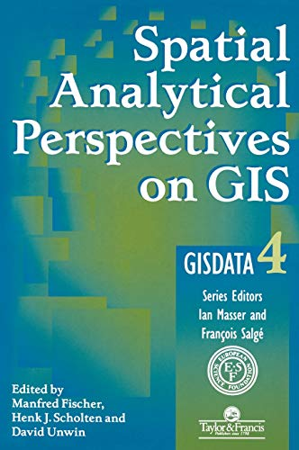 9780748403400: Spatial Analytical Perspectives on GIS (Gisdata)