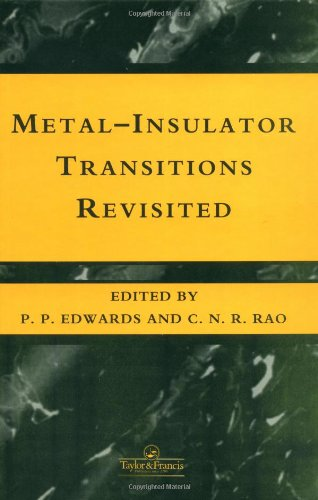 The Metal-Nonmetal Transition Revisited (074840385X) by Edwards, P.; Rao, C.N.R.