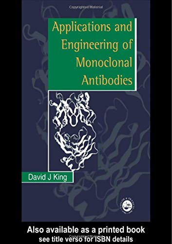 9780748404223: Applications And Engineering Of Monoclonal Antibodies